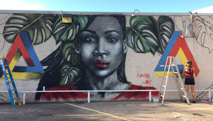 GRAFFITI: MAKING THE LEAP FROM ILLEGAL TO LEGAL