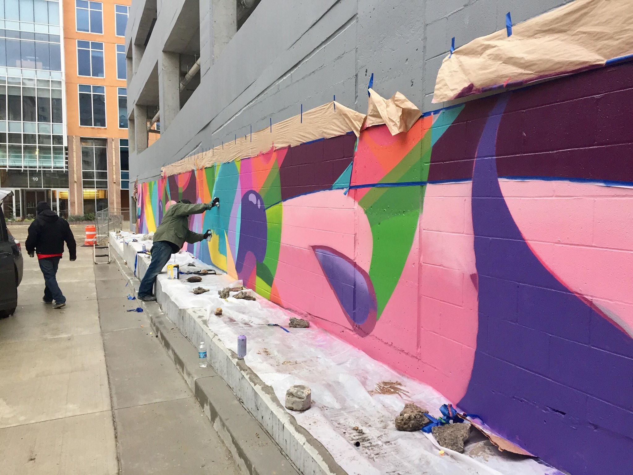 City of Madison Parking Ramp Mural